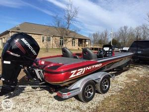 Used Nitro Z-21 Bass Boat For Sale