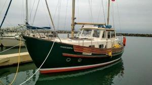 Used Fisher 30 Aft Cabin Motor Sailor Motorsailer Sailboat For Sale