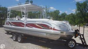 Used Jc 266 B Tritoon Classic Pontoon Boat For Sale