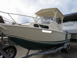 Used Gulf Craft 24 Custom Pilothouse Boat For Sale