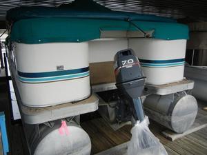 Used Godfrey 24 EL24 EL Pontoon Boat For Sale