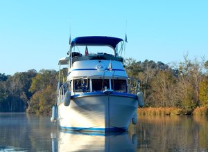 Used Marine Trader Double Cabin Trawler Boat For Sale
