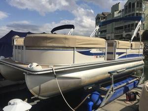 Used Harris 220 Sunliner Pontoon Boat For Sale