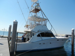 Used Post 40 Sportfish Sports Fishing Boat For Sale