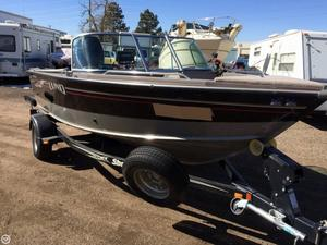 Used Lund 1700 Fisherman Aluminum Fishing Boat For Sale