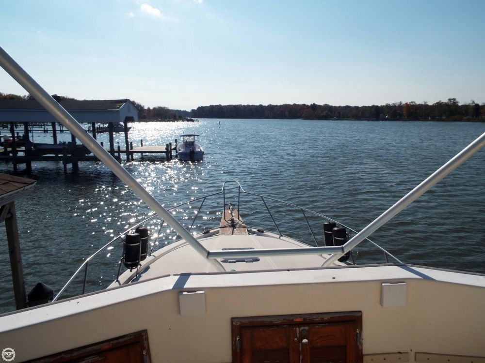 1989 used pacemaker 33 sportfish sports fishing boat for for Used fishing boats for sale in md