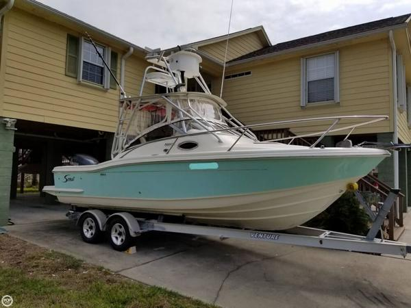 Used Scout 242 Abaco Walkaround Fishing Boat For Sale