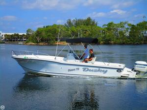 Used Dusky Marine 256 Center Console Center Console Fishing Boat For Sale