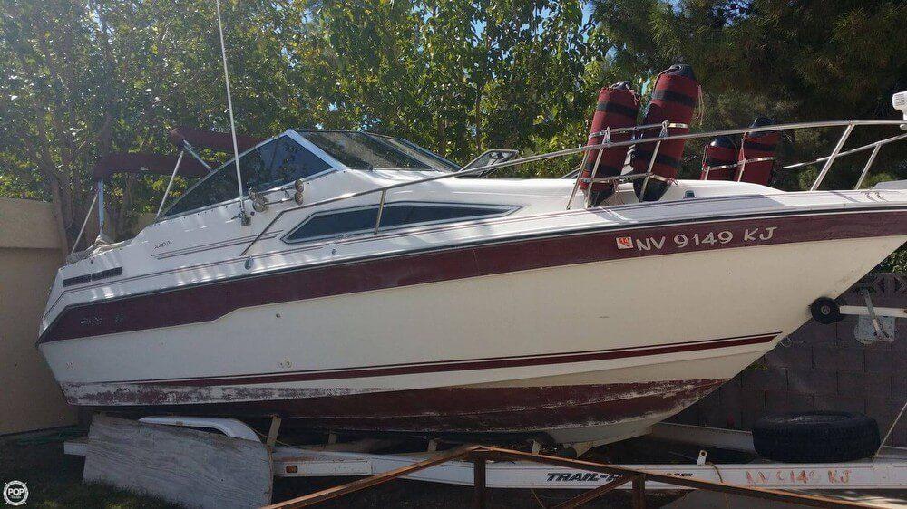 1991 Used Sea Ray 220 Sundancer Express Cruiser Boat For Sale