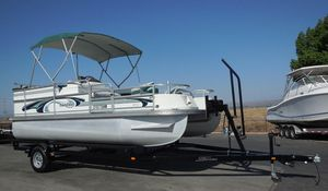 Used Landau DX-18DX-18 Pontoon Boat For Sale