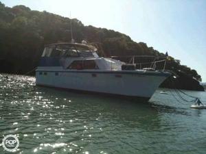 Used Hatteras 38 Tri-Cabin Trawler Boat For Sale