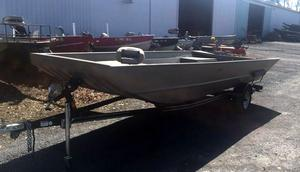 New Alumacraft FLT 1860 AW Jon Boat For Sale