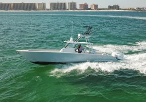 Used Metal Shark 42 Fearless Center Console Fishing Boat For Sale