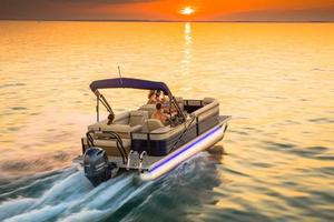 New Crest II 230 SLCII 230 SLC Pontoon Boat For Sale