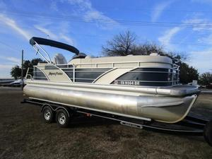 Used Aqua Patio 220 Pontoon Boat For Sale