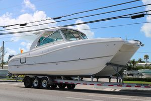 New World Cat 320DC Dual Console320DC Dual Console Power Catamaran Boat For Sale
