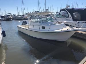 Used Parker 2510 Modified Vee Walkaround Freshwater Fishing Boat For Sale