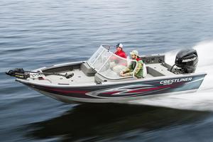 Used Crestliner 1850 Raptor Aluminum Fishing Boat For Sale