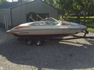 Used Bryant 233 Deck Boat For Sale
