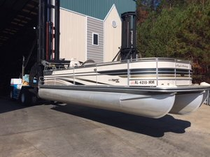 Used Harris 250 Royal Heritage Pontoon Boat For Sale