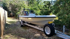 Used Action Craft Flatsmaster 1890 Flats Fishing Boat For Sale