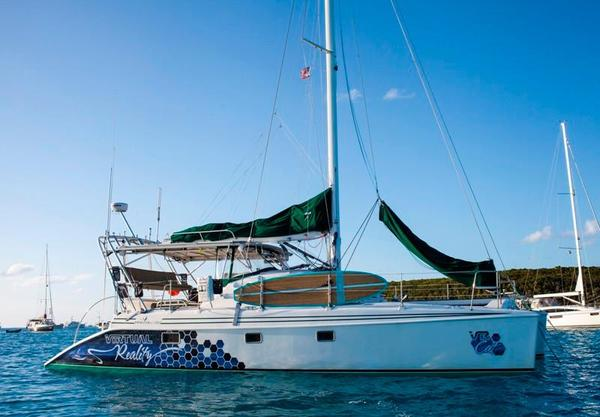 Used Manta 42 MKII Sail Catamaran Sailboat For Sale