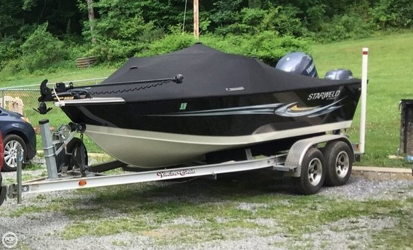 Used Starcraft Starweld 1900 Aluminum Fishing Boat For Sale