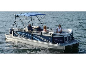 New J C Sunlounger 25TT Sport Pontoon Boat For Sale