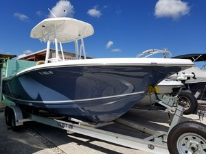 Used Tidewater 220 LXF/CC Center Console Fishing Boat For Sale