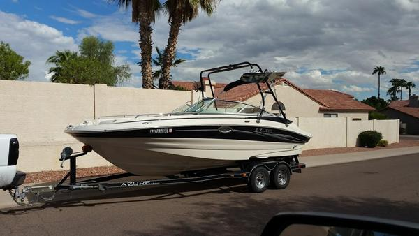 Used Azure AZ228 Deck Boat For Sale