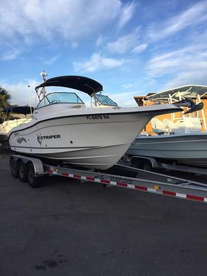 Used Seaswirl Striper 23 DC Bow Rider23 DC Bow Rider Saltwater Fishing Boat For Sale