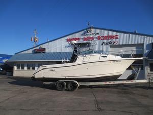 Used Striper 2601 Walkaround I/O2601 Walkaround I/O Freshwater Fishing Boat For Sale