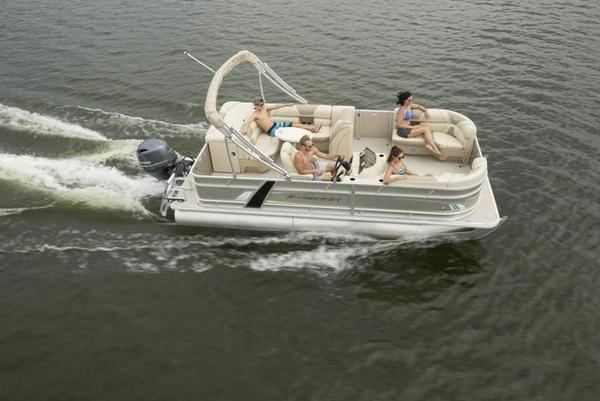 New Starcraft EX 18 C (New Photos Will Be Available Soon!) Pontoon Boat For Sale