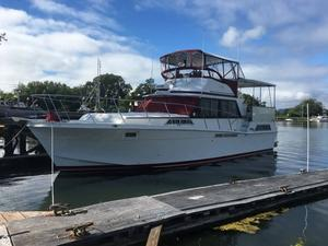 Used Uniflite 42 Aft Cabin Boat For Sale