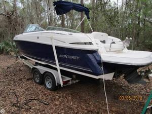 Used Monterey 254 FS Bowrider Boat For Sale
