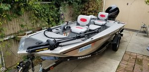Used Tracker Panfish 16 Aluminum Fishing Boat For Sale