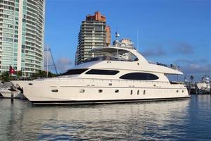 Used Hargrave 97 Mega Yacht Flybridge Boat For Sale