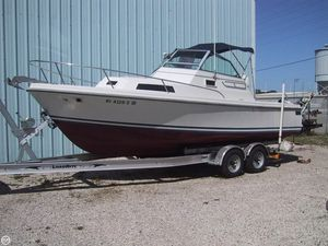 Used Hinterhoeller 24 Limestone Walkaround Fishing Boat For Sale