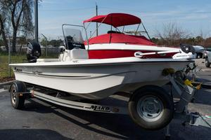 Used Mako Pro Skiff 16 CC Skiff Boat For Sale