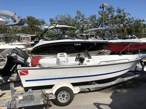 Used Logic 17 Side Console17 Side Console Runabout Boat For Sale