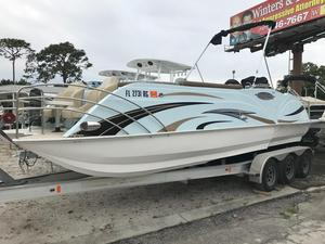 Used Caravelle Razor 246 FS Pontoon Boat For Sale