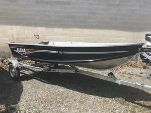 New Alumacraft T12V Trekker Sports Fishing Boat For Sale