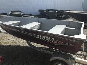 New Alumacraft T12V Trekker Sports Fishing Boat For Sale