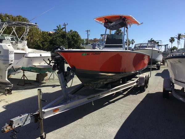 Used Contender 21 Open21 Open Center Console Fishing Boat For Sale