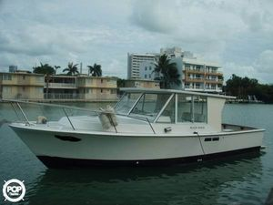 Used Black Watch 30 Open Fisherman Sports Fishing Boat For Sale