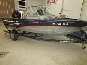 Used Tracker Pro-Guide V-175 Combo Aluminum Fishing Boat For Sale