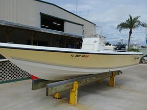 Used Sea Pro SV2100CC Bay BoatSV2100CC Bay Boat Walkaround Fishing Boat For Sale
