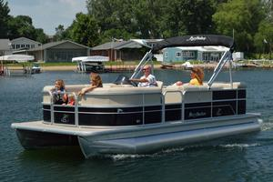 Used Misty Harbor 245 Adventure CR Pontoon Boat For Sale