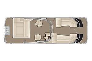 New Bennington 25 QSBA25 QSBA Pontoon Boat For Sale