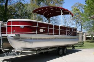 Used South Bay 725CR TT IO Pontoon Boat For Sale